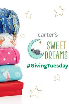 Are you ready to give this Tuesday? Kick off the new season (and stock up on those pj's!) by celebrating #GivingTuesday with Carter's and Pajama Program!   #CartersSweetDreams #Sponsored #Charity via @roastedbeanz