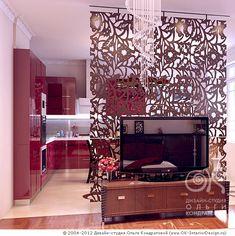 перегородка в гостиной - Поиск в Google Bright Kitchens, Interior Decorating, Interior Design, Living Room Kitchen, Sweet Home, Restaurant, House Design, Design Ideas, Home Decor