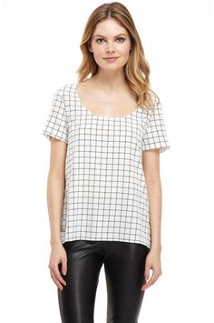 Ruby Piped Tee #style #fashion