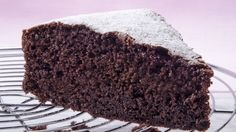 It's the crazy chocolate cake!