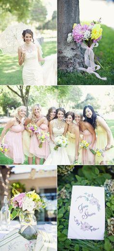 Fleur de Lis Chapel Wedding by We Heart Photography