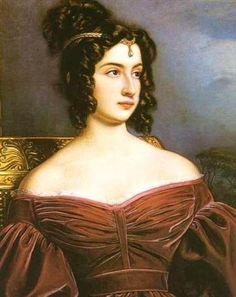 1831 Marianna Marchesa Florenzi by Joseph Karl Stieler