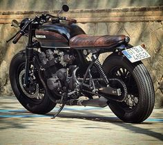 Honda CB750 brat...