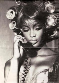 Naomi Campbell for Interview Magazine, 1991. Photography by Ellen von Unwerth