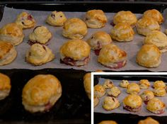 Bocaditos de hojaldre y cereza - La Cocina de Virginia