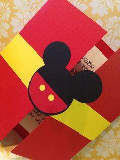 Items similar to 30 Mickey Mouse gatefold birthday invitations - Mickey Invitation - Boys Birthday - Birthday Invitations - Mouse invitation on Etsy Mickey Mouse First Birthday, Mickey Mouse Clubhouse Party, 1st Birthday Cards, Mickey Mouse Parties, Elmo Birthday, Mickey Party, Dinosaur Birthday, Handmade Birthday Cards, Dinosaur Party