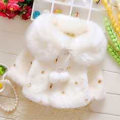 2015 autumn winter girls baby clothes overcoats for newborn infant baby clothing Christmas birthday party outerwear coats jacket