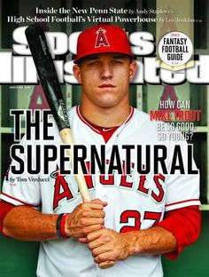 Mike Trout, the supernatural.
