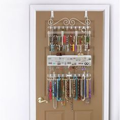 Over-the-Door Jewelry Organizer - BedBathandBeyond.com