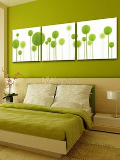 3-Piece Simple Floral Decorative Wall Picture