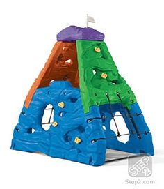 Kids outdoor climbing toys are the best choice to promote balance, strength and coordination in growing kids. The Step 2 Skyward Summit Climber is an addition Outdoor Fun For Kids, Outdoor Play, Design Shop, Toddler Toys, Kids Toys, Kids Climber, Play Structures For Kids, Indoor Climbing Wall, Little Tikes