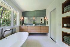 Mid-Century Modern Bathroom Ideas-24-1 Kindesign
