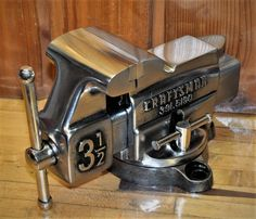 Vintage Craftsman Vise Old Vice Pipe Jaw Anvil Steampunk Decor Tool Gunsmith
