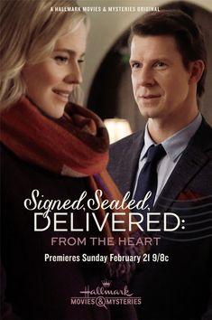 "Its a Wonderful Movie - Your Guide to Family Movies on TV: ""Signed, Sealed, Delivered: From the Heart"" arrives shortly after Valentine's Day! #POstables"