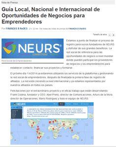 NEURS: La Red Social de los Emprendedores