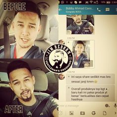 Thanks to Mr. Bobby for testimony ✯ JIM REBORN ✯ BEARD OIL #JimReborn #Gentlemans # Grooming #cambang #jenggot #kumis
