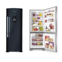 Geladeira/Refrigerador Brastemp Ative! Inverse BRE50NE 422 litros 2 portas Frost Free Preto