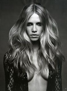 Style Hair Harajuku: German Vogue May 2010 editorial: Aline Weber, ph: Patrick Demarchelier