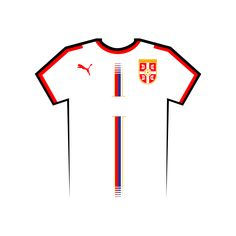 Vote for your favourite World Cup shirt! Serbia World Cup Shirt Vector World Cup Shirts, World Cup Teams, Team Shirts, Your Favorite, Russia, Letters, Kit, Football Jerseys, Letter