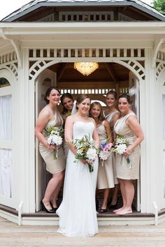 Danica and Andy - different pose of the girls at the Cinderella Gazebo. . . #BlackHillsReceptions