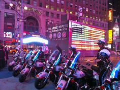 NYPD Times Square NYC
