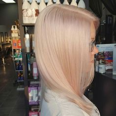 Champagne blonde   iridescent  surface pure blonde by Becky…