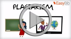 Plagiarism Video from EasyBib | Basic plagiarism prevention, why and how of citations, & paraphrasing