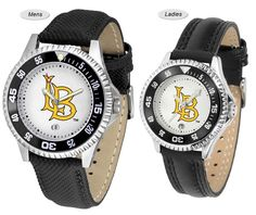 The Competitor Sport Leather Long Beach State 49ers Watch is available in your choice of Mens or Ladies styles. Showcases the 49ers logo. Free Shipping. Visit SportsFansPlus.com for Details.