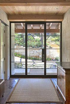 Indoor/outdoor architectural blend