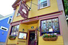 Charlotte Lane Cafe & Gifts - Shelburne, NS  Winner of the Best Small Restaurant in Nova Scotia. Chef Roland does not disappoint! Amazing menu, great selection of wines, great atmosphere and very friendly staff!