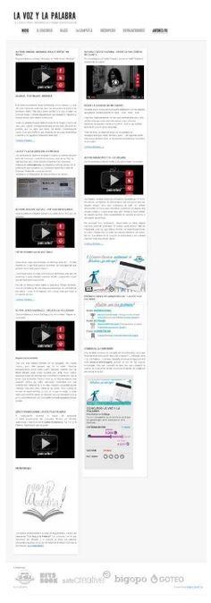 La mejor opción para disfrutar de 12 VOCES, 12 AUTORES/AS y 10 OBRAS literarias, pero en formato audiovisual. El certamen de la Voz y la Palabra espera que descubráis a los talentos de la red.     http://www.universolamaga.com/lavozylapalabra/    Si quieres formar parte de esta aventura puedes apoyar con una pequeña cantidad y dar la posibilidad de imprimir el libro final!!     http://www.universolamaga.com/lavozylapalabra/?page_id=162