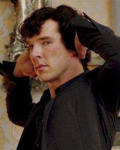 Sherlock: Benedict Cumberbatch/A Scandal in Belgravia Benedict Sherlock, Sherlock Bbc, Sherlock Holmes Benedict Cumberbatch, Sherlock Fandom, Watson Sherlock, Sherlock Quotes, John Watson, Johnlock, Martin Freeman