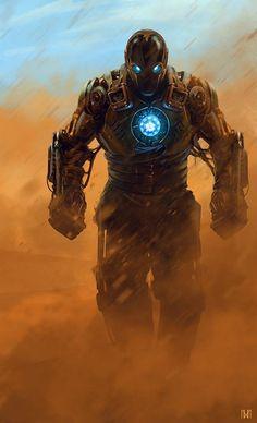 #Iron #Man #Fan #Art. (Steampunk Iron Man) By: Nagy Norbert. (THE * 5 * STÅR * ÅWARD * OF * MAJOR ÅWESOMENESS!!!™) [THANK U 4 PINNING!!!<·><]