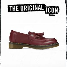The Adrian Tassel loafer. This style was worn by early British youth cultures. They rocked it with a white sock, in homage to the dapper Jamaican rude boys who favoured this smart shoe. Dr. Martens, Men Suit Shoes, Rude Boy, Youth Culture, Tassel Loafers, Loafer Shoes, Mens Suits, Dapper, Clogs