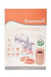 Weewell - Weewell İkili Elektrikli Göğüs Pompası