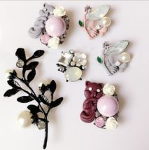 Charm Painted Butterfly Flower Little Squirrel Phone Alloy Beauty Hair Decoration Material DIY Jewelry Accessories  This is a fantastic charm - a real hit of the season! This is a great find for handy people.  Enjoy the creativity!  You will re...