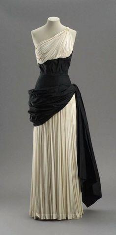 Draped Evening Dress, early 1950s Madame Grès