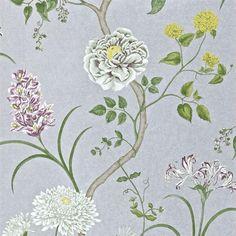 Bildresultat för blommig tapet sovrum