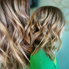 #balayagehair #fall2016 #blondehair