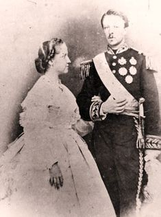 Princesa Isabel e Conde d'Eu no dia do casamento, 15 de outubro de 1864