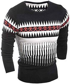 - Mens fashionable winter sweater for the stylish fashionista - Modern design offers a cool stylish look - Perfect for parties or social gatherings - Made from high quality material - Available in 3 colors Casual Sweaters, Cool Sweaters, Winter Sweaters, Mens Modern Clothing, Mens Clothing Styles, Trendy Mens Fashion, Stylish Mens Outfits, Sweater Outfits, Men Sweater
