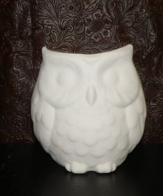 Snowman Candle Holder 11 Ceramic Bisque Ready to Paint