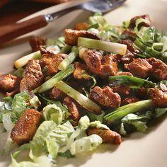 Caramelized Pork Over Lettuce by Cooking Light