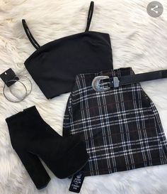 Outfit November 07 2019 at fashion-inspo Teen Fashion Outfits, Cute Fashion, Look Fashion, Outfits For Teens, Korean Fashion, Girl Fashion, Girl Outfits, Fashion Tape, School Outfits