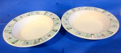 "2 Atomic Mid Century Taylor Smith CATHAY 7 3/4""  Soup Cereal Chili Bowls  #Taylorsmithtaylor"