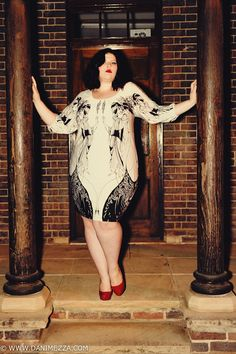 deco swan dress - stunning