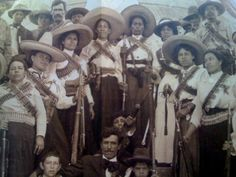 """""""A woman is the full circle. Within her is the power to create, nurture and transform. ~ Diane Mariechild * Fierce Women of The Mexican Revolution: 'Adelitas' <3 lis"""