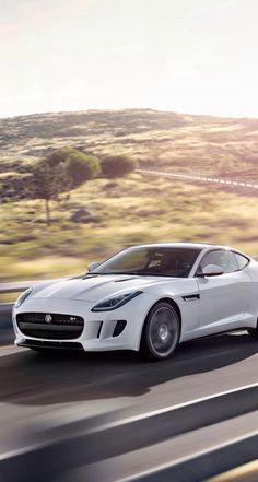 Polaris white F-Type ... Jaguar