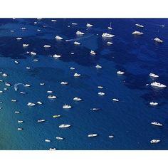 #Inspiration via @tommy.clarke - #COOL #bluecolor #darkblue #boat #ocean #fromthetop #eresparis #eresinspired #summer2016 #swimwear - St Tropez, 2014