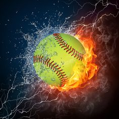 Softball rocks.